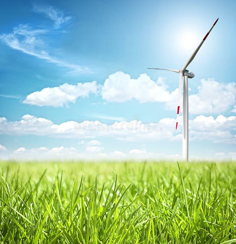 Conceito da energia limpa imagens de stock royalty free