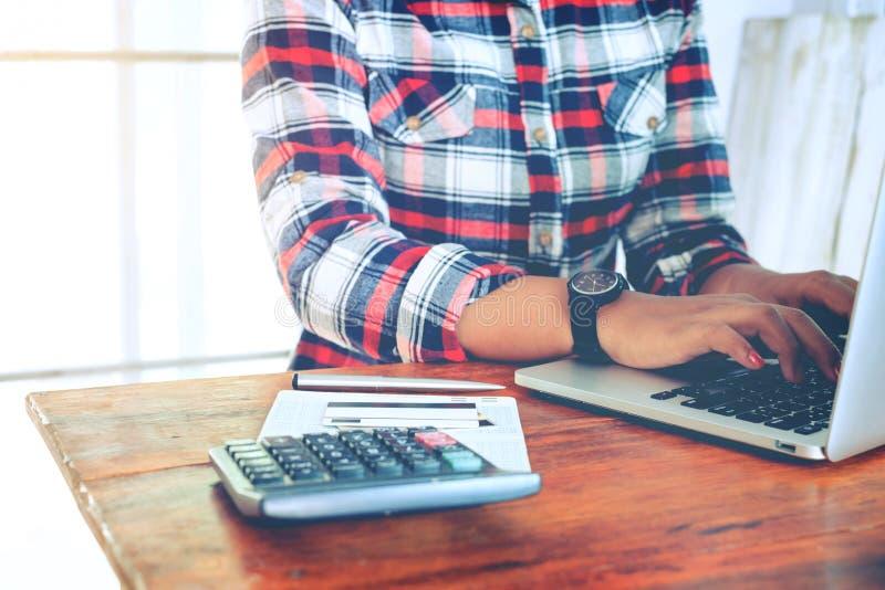 Conceito da finança e de contabilidade foto de stock