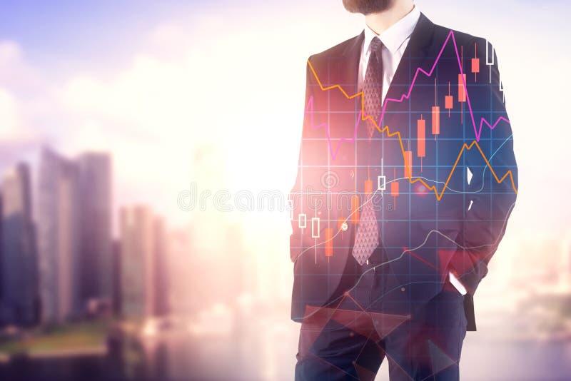 Conceito da finança e do crescimento foto de stock royalty free