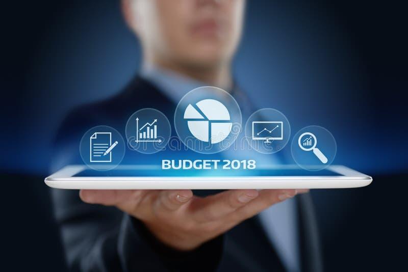 Conceito da gestão de contabilidade da economia da finança do negócio do orçamento foto de stock