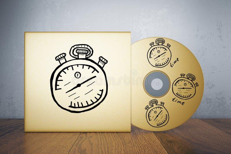 Conceito da gestão de tempo fotografia de stock