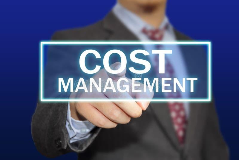 Conceito da gestão do custo fotos de stock royalty free