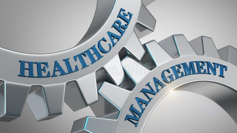 Conceito da gestão dos cuidados médicos ilustração stock
