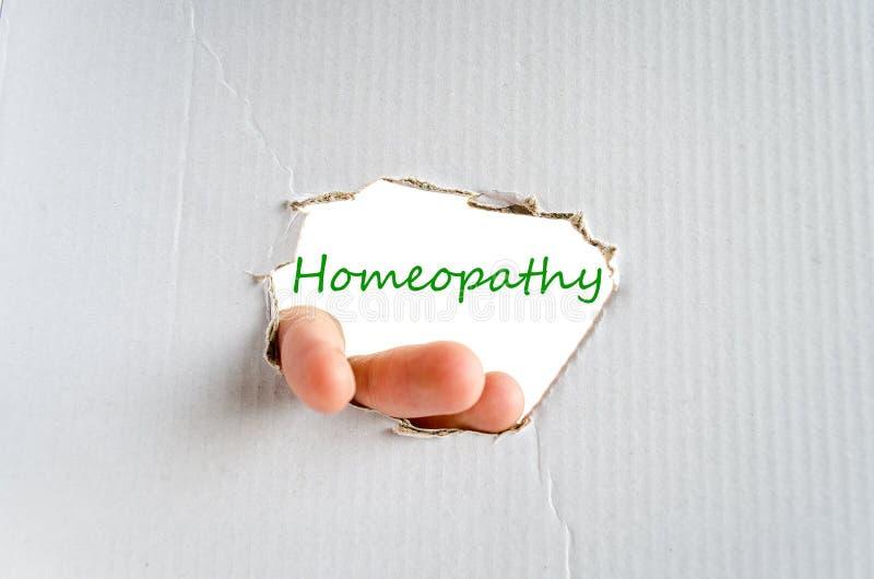 Conceito da homeopatia fotos de stock royalty free