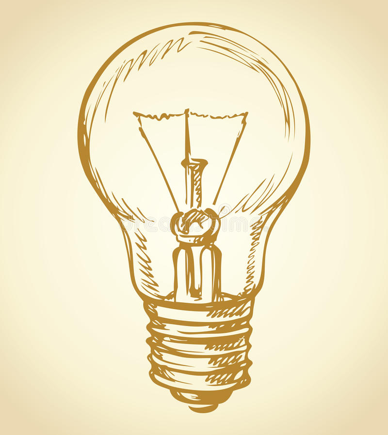 Conceito da idéia, ilustração do vetor Desenho do vetor ilustração royalty free