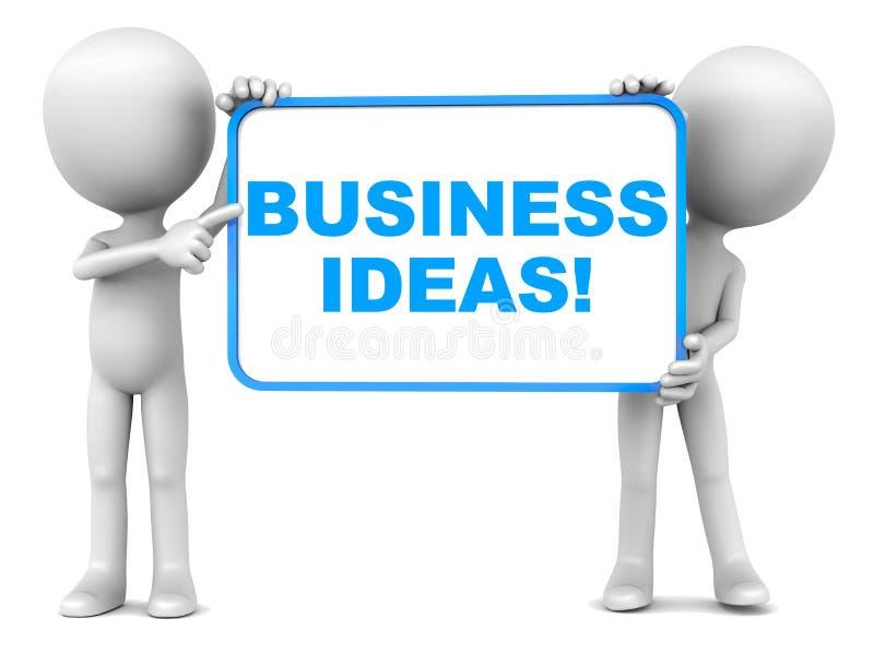 Ideia do negócio ilustração stock