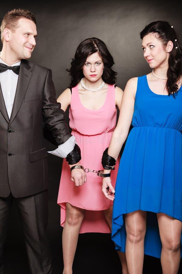 Conceito da infidelidade marital fotografia de stock royalty free