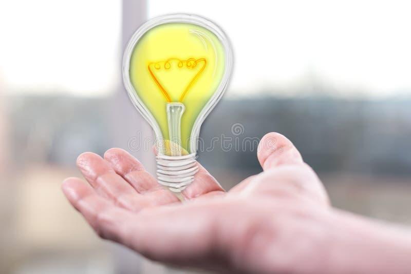 Conceito da inovação imagens de stock