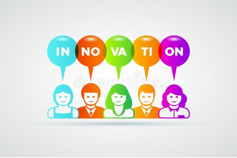 Conceito da inovação ilustração royalty free