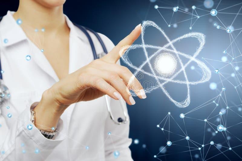 Conceito da inovação e da medicina imagem de stock