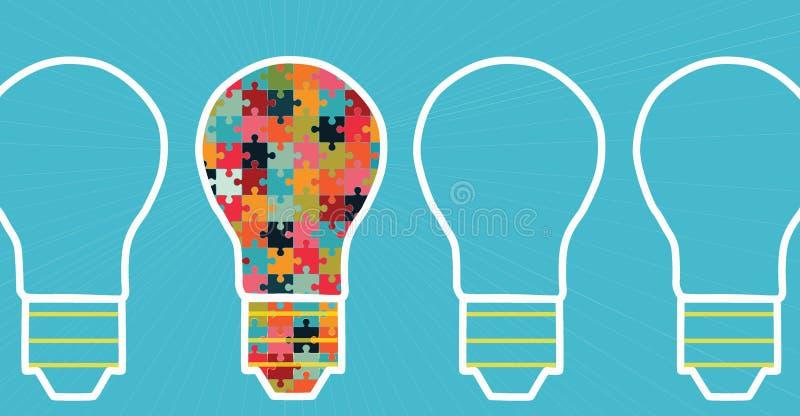 conceito da inovação grande da inspiração das ideias, invenção, pensamento eficaz imagem de stock royalty free