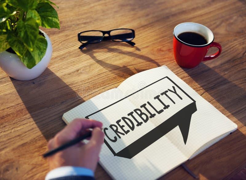 Conceito da inspiração da determinação da parceria da credibilidade fotos de stock royalty free
