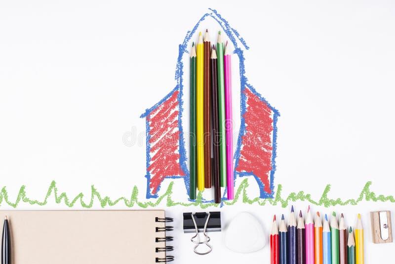 Conceito da instrução ilustração do vetor