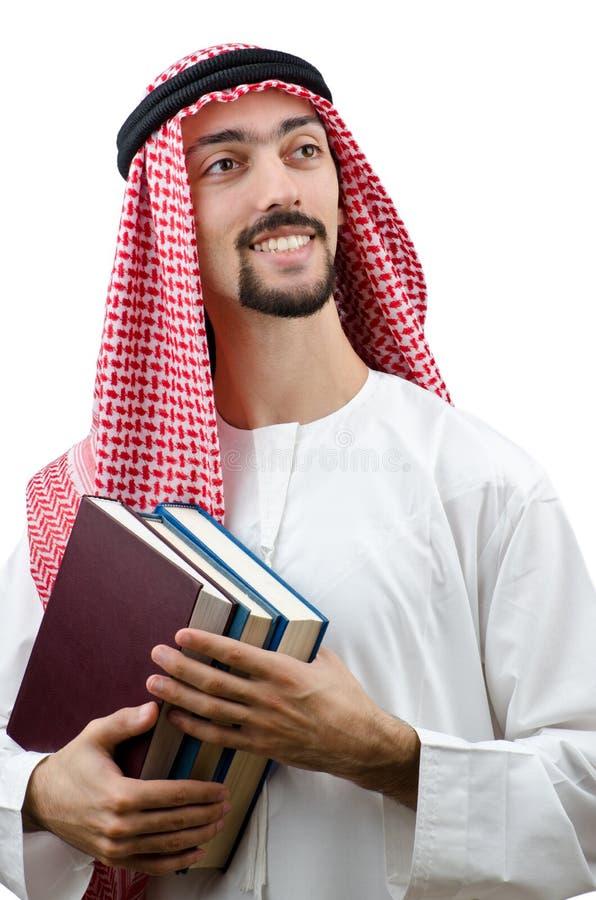 Conceito da instrução com árabe imagens de stock