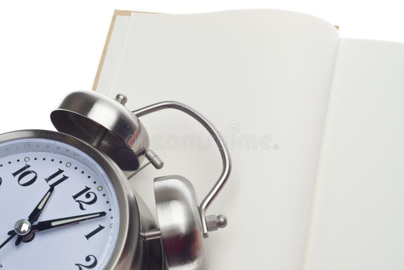 Conceito da instrução e do tempo fotografia de stock