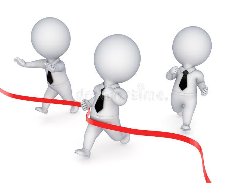 Conceito da liderança. ilustração do vetor