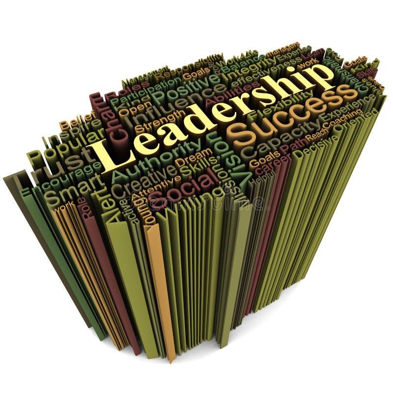 Conceito da liderança ilustração do vetor