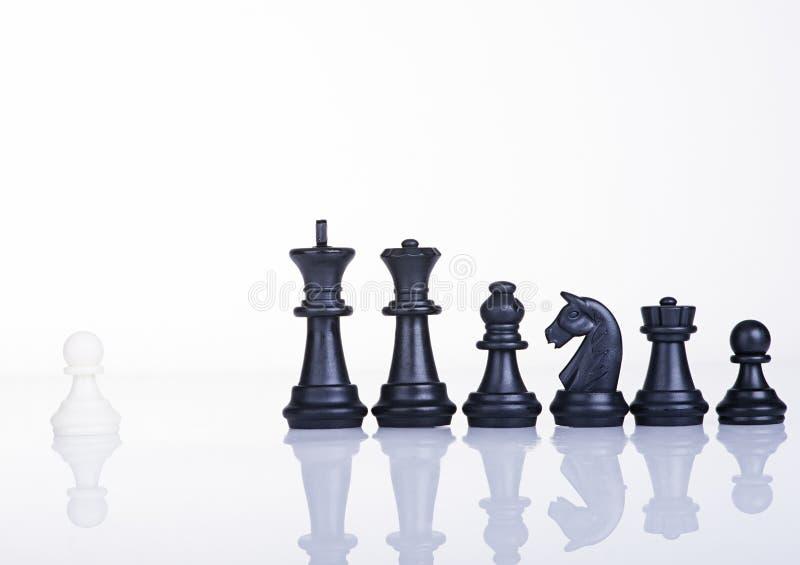 Conceito da liderança da bravura imagem de stock