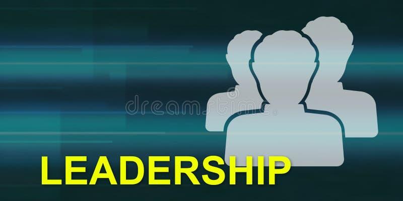 Conceito da liderança ilustração stock