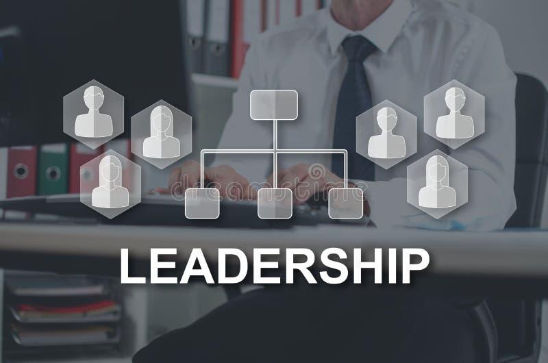 Conceito da lideran?a ilustração do vetor