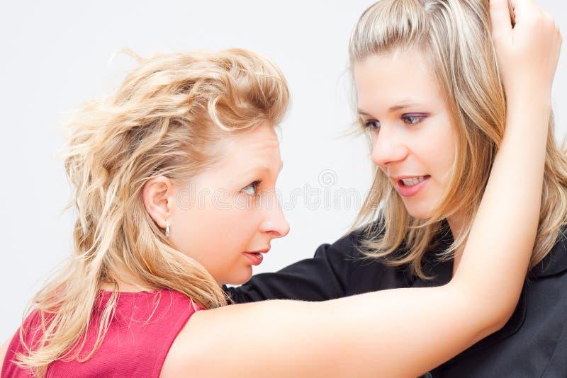 Conceito da luta das mulheres imagem de stock