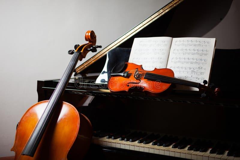 Conceito da música clássica imagens de stock royalty free