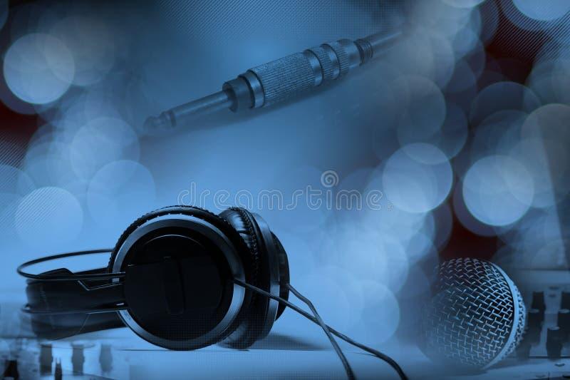 Conceito da música do DJ foto de stock royalty free