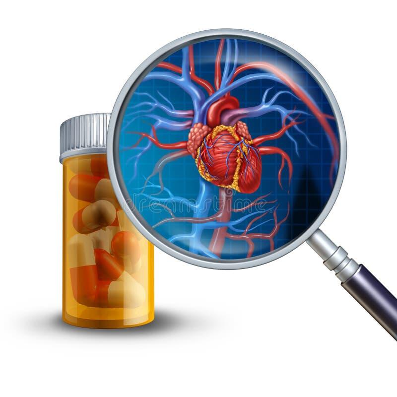 Conceito da medicina do coração ilustração royalty free