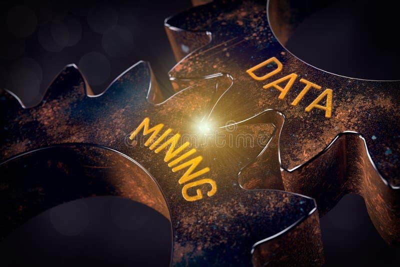 Conceito da mineração de dados foto de stock royalty free