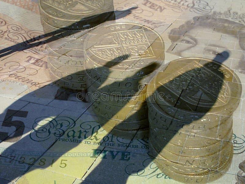 Conceito da moeda foto de stock