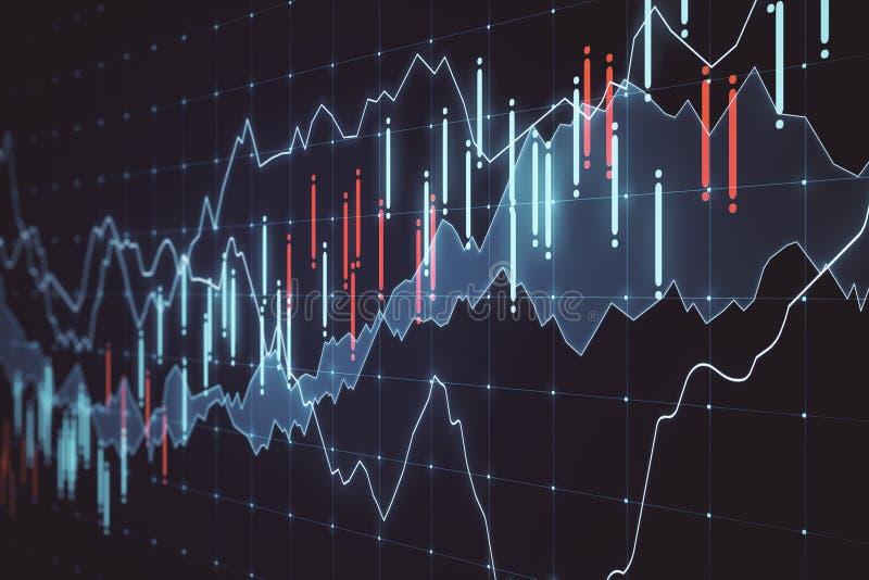 Conceito da moeda e do comércio ilustração stock