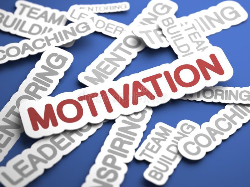 Conceito da motivação. fotografia de stock