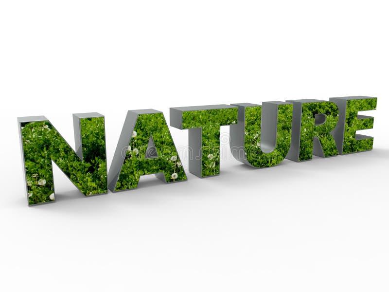 Download Conceito da natureza ilustração stock. Ilustração de landfill - 65575828