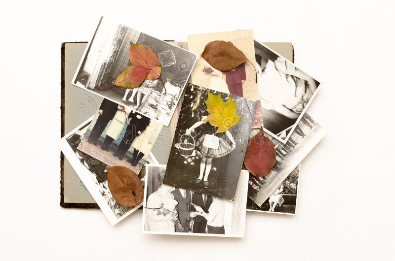Conceito da nostalgia memoirs Fundo retro do vintage com espaço da cópia imagens de stock royalty free