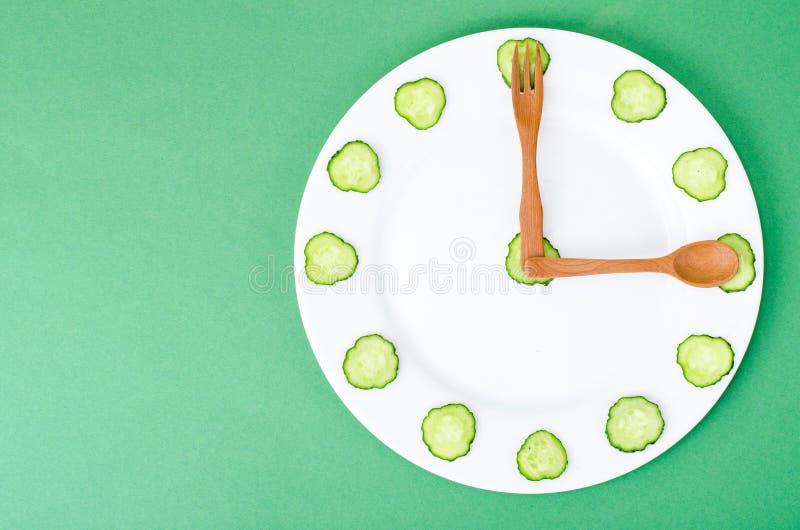 Conceito da nutrição dietética, estilo de vida saudável, menu do vegetariano fotos de stock