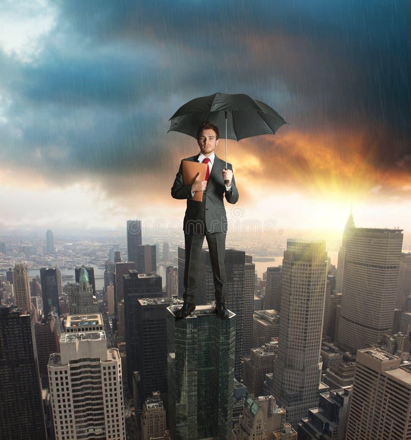 Conceito da proteção do seguro imagem de stock royalty free