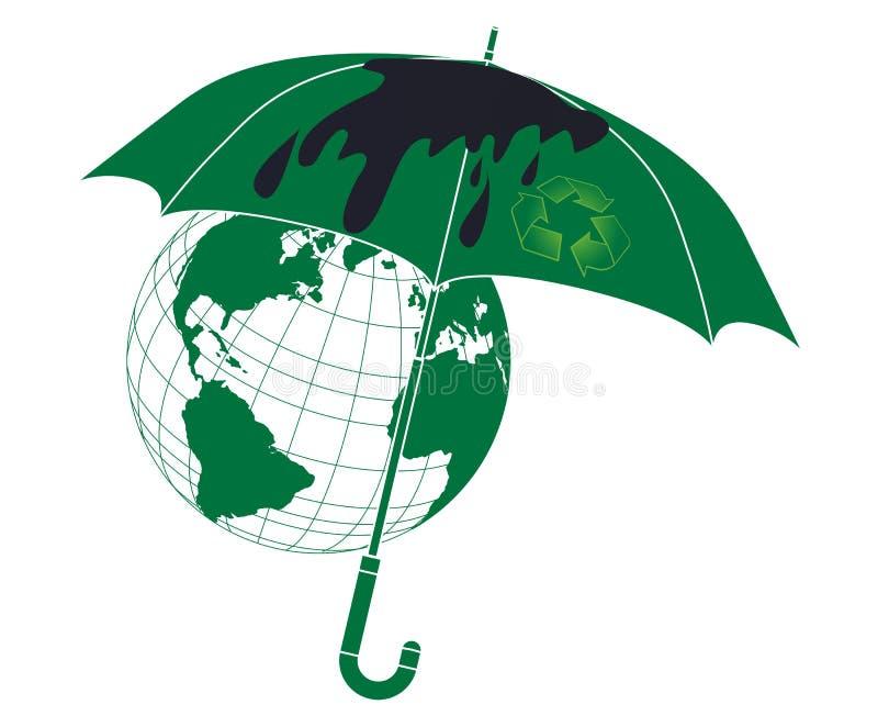 Conceito Da Protecção Ambiental Foto de Stock