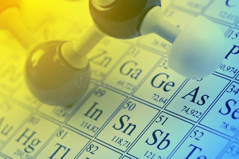 Conceito da química fotos de stock