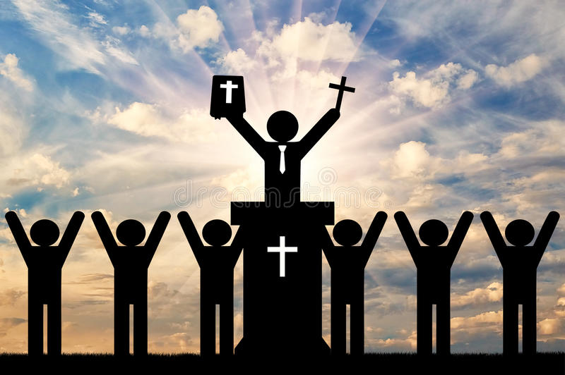 Conceito da religião da cristandade foto de stock royalty free