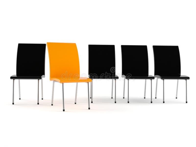 Conceito da reunião ilustração do vetor