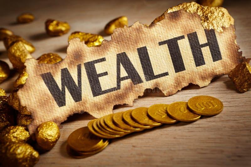 Conceito da riqueza fotografia de stock royalty free