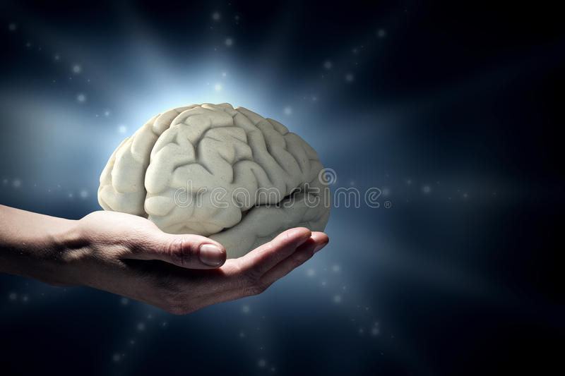 Conceito da saúde mental ilustração do vetor