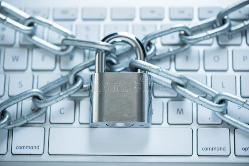 Conceito da segurança da informação imagens de stock