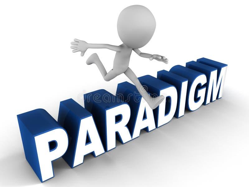 SHIFT do paradigma ilustração do vetor