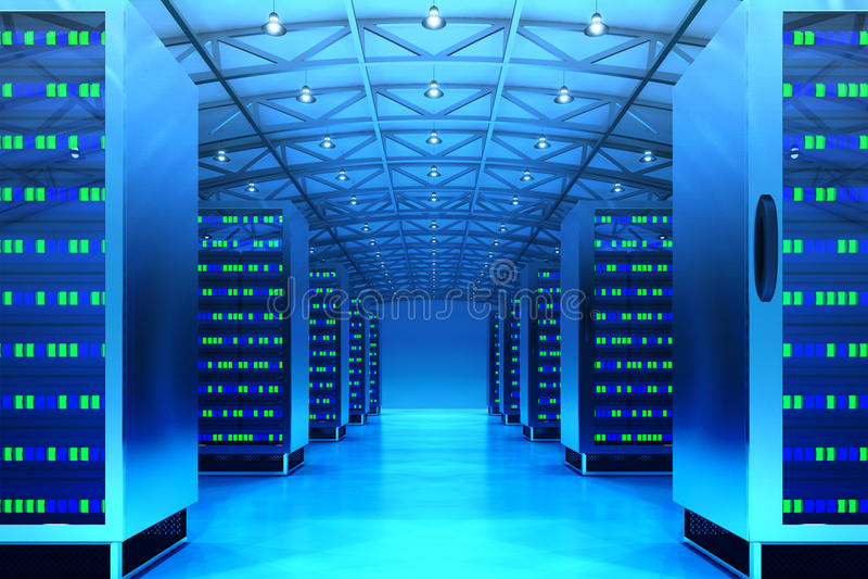 Conceito da tecnologia de comunicação dos trabalhos em rede ilustração stock