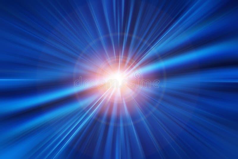 Conceito de alta velocidade do negócio e da tecnologia, sumário rápido rápido super do borrão de movimento da aceleração ilustração do vetor