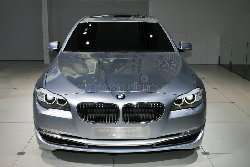 Conceito de BMW híbrido do Active de 5 séries foto de stock royalty free