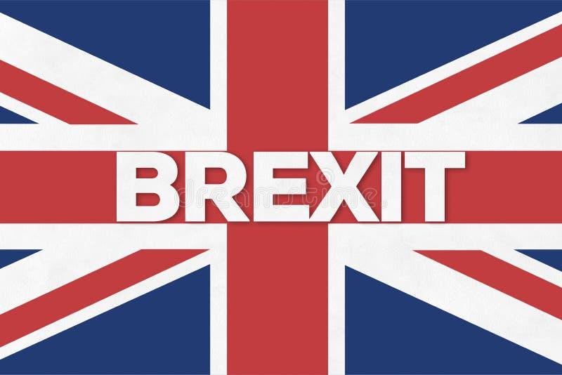 Conceito de Brexit foto de stock