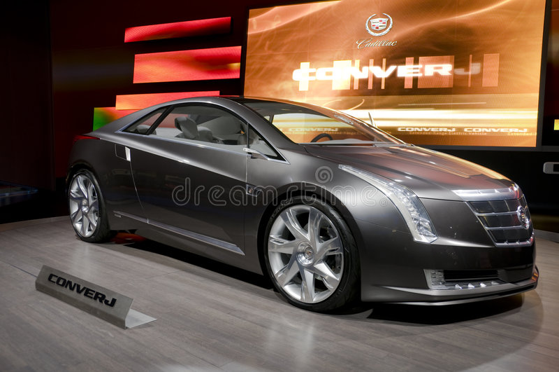 Conceito de Cadillac Converj imagem de stock royalty free