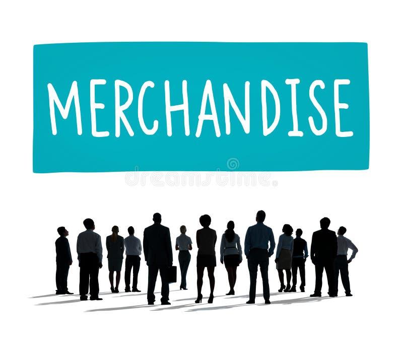 Conceito de ConsumerSell do marketing de produto da mercadoria fotografia de stock royalty free